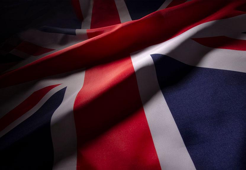 UK Flag - Hamilton Reserve Bank - A bank with a deep british heritage